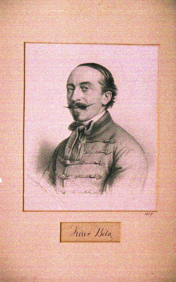 Portrét Bélu Kélera z roku 1862 od Jozefa Marastoniho, foto: muzeumbardejov.sk