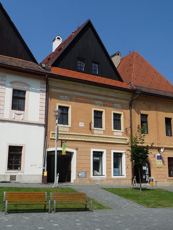 Rodný dom Bélu Kélera v Bardejove, foto: muzeumbardejov.sk