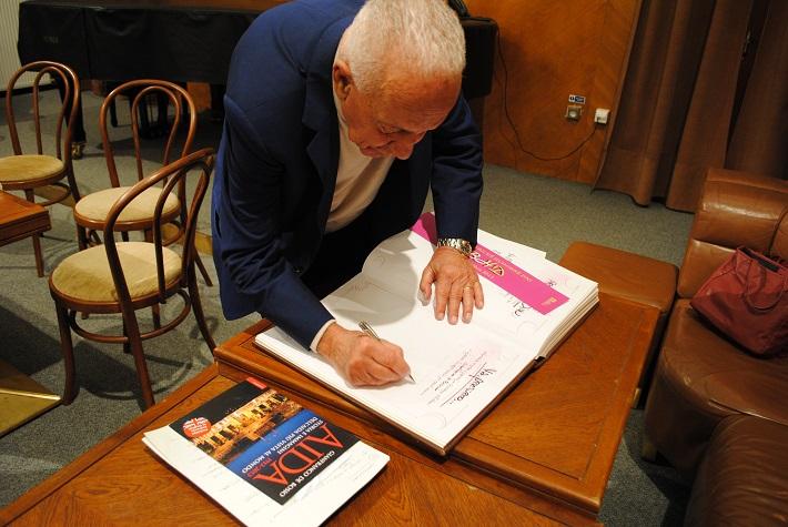 Gianfranco de Bosio v banskobystrickej Štátnej opere, 2013 foto: Ľudovít Vongrej