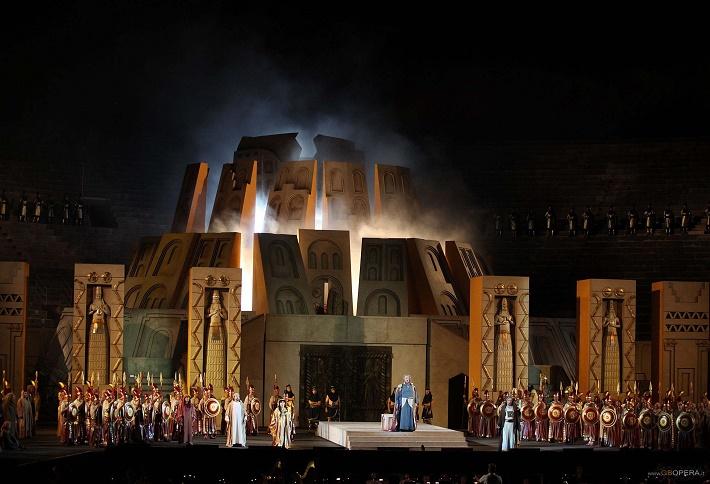 Nabucco, Arena di Verona réžia: Gianfranco de Bosio