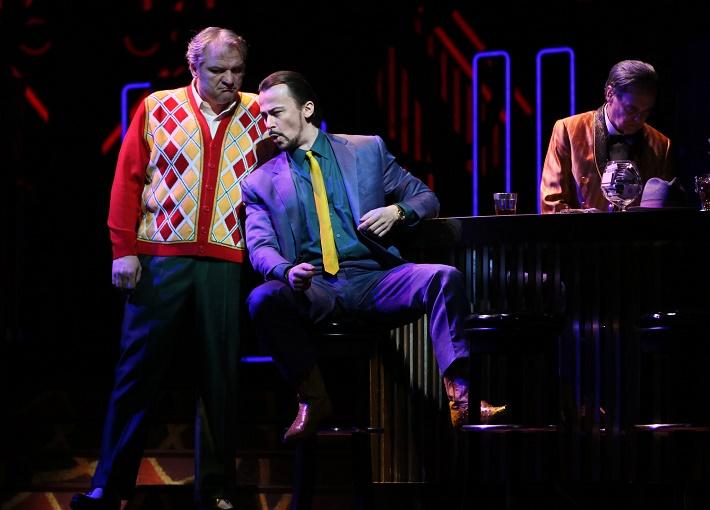 Rigoletto, Metropolitná opera New York, Željko Lučić (Rigoletto), Štefan Kocán (Sparafucile)