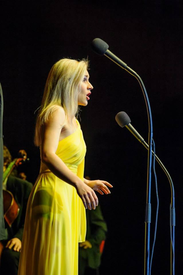 Jose Cura - koncert v Bratislave, Linda Ballová foto: Ivan Karlik