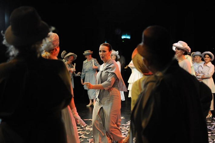 Foto zo skúšky opery Piková dáma, Opera SND, foto: Alena Klenková