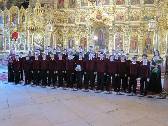 Koncert BChZ v Bazilike Alexandra Nevského v Yegorevsku