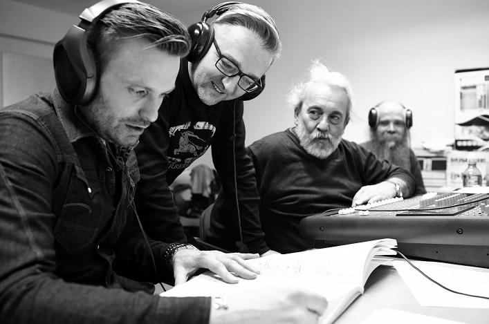 Nahrávanie CD Mikuláš Schneider-Trnavský: Songs foto: Branislav Šimončík