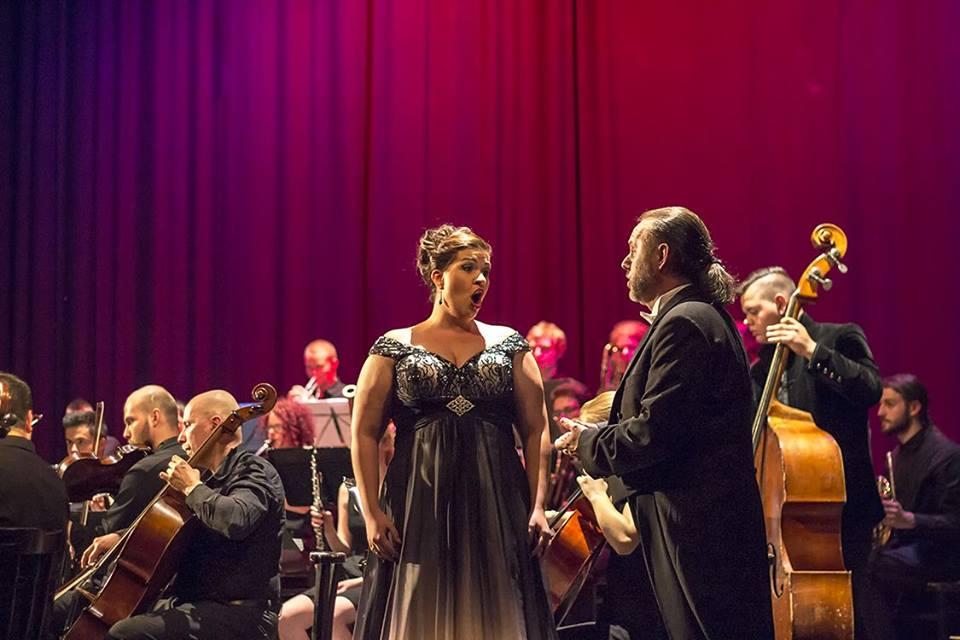 KOB Galakoncert 2014Erika Szaboová, soprán a Ľudovít Ludha, tenor