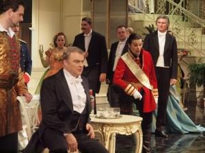 Miroslav Dvorský (Gabriel von Eisenstein), Monika Fabianová (Princ Orlofsky), František Duriač (Dr. Falke)