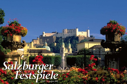 Salzburger Festspiele, Salzburg, Rakúsko