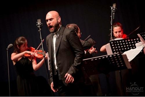 Xavier Sabata so svojim barokovým orchestrom Il Pomo d´Oro / Foto Zdenko Hanout