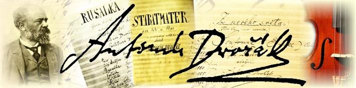 Podpis Antonína Dvořáka