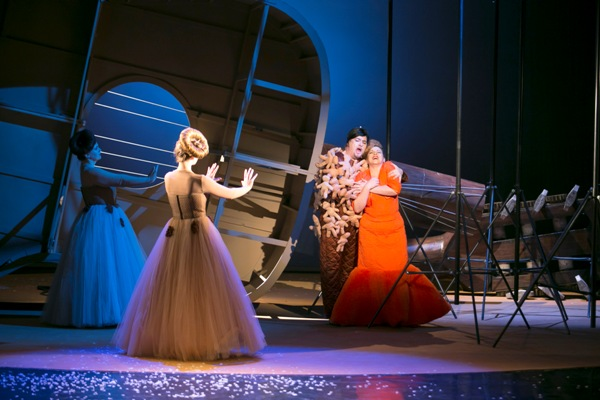 Ariadna na Naxe, Opera ŠD Košice foto: Joseph Marčinský