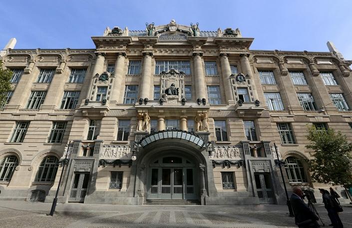 Budova Lisztovej akadémie v Budapešti