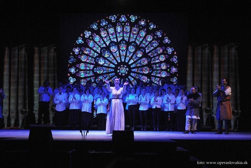 Viva Verdi 2014 ú Giovanna d´Arco klanáčka po predstavení Foto: Ľudovít Vongrej