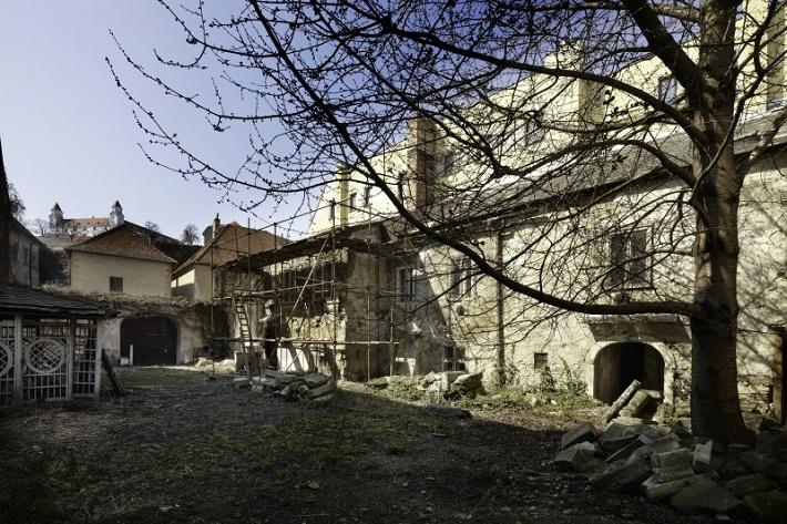 Dom Albrechtovcov v rekonštrukcii