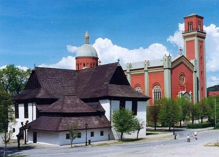 Drevený evanjelický artikularny kostol v Kežmarku