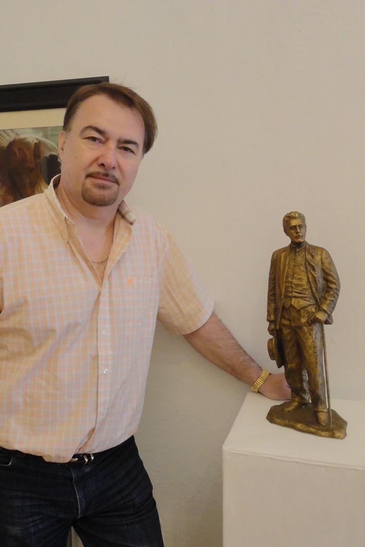 Výstava: Jaroslav Dvorský – tak ako ho nepoznáme (maľba, kresba, socha) foto: Opera Slovakia