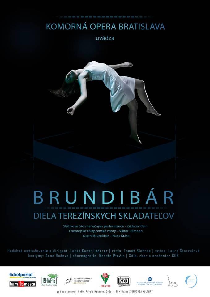 Komorna opera Bratislava poster