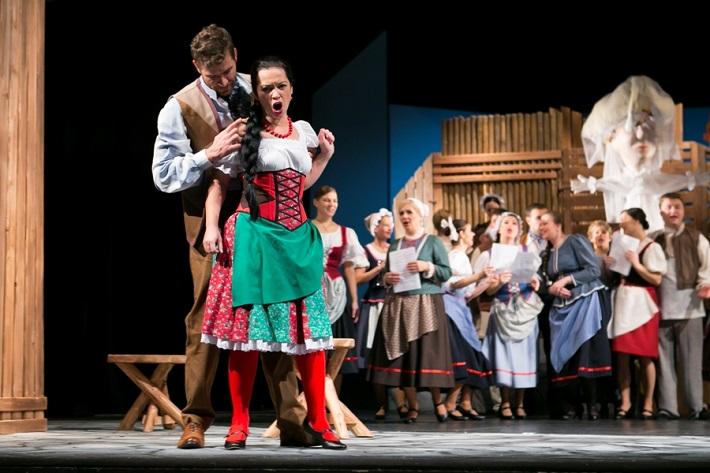 Námesačná, Opera ŠD Košice foto: Joseph Marčinský