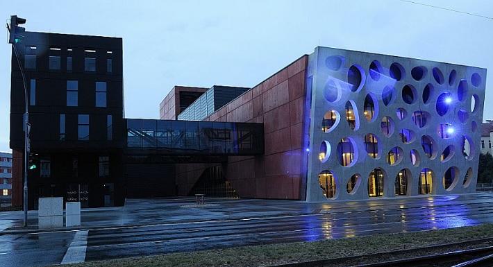 Nová budova divadla V Plzni