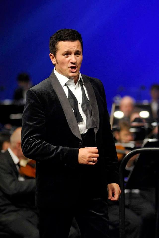 Koncert Piotra Bezcału v Bratislave foto: Pavel Neubauer TASR