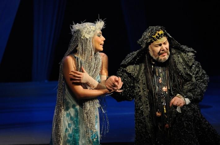Rusalka, ŠOBB Patrícia Solotruková (Rusalka), Peter Mikuláš (Vodník)