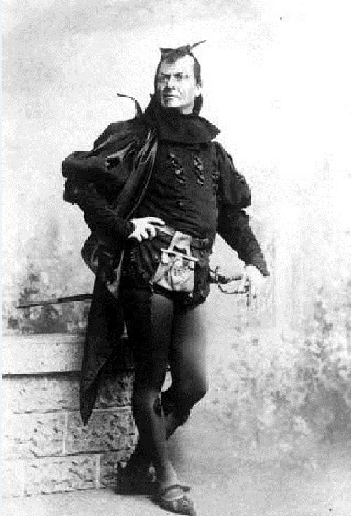 Fiodor Šaľapin ako Mefisto