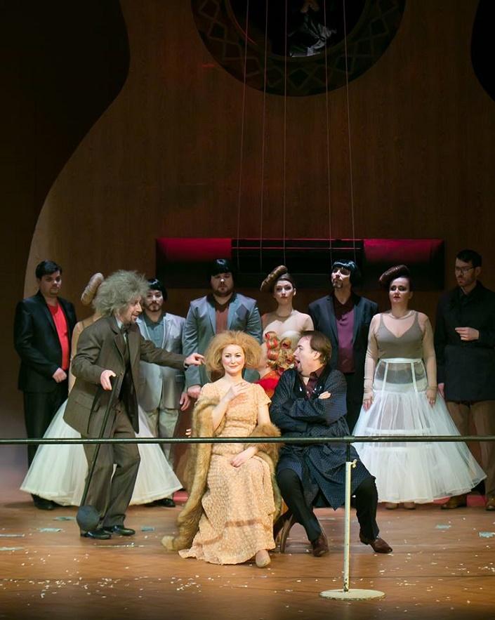 Ariadna na Naxe, Opera ŠD Košice Dominika Doniga (druhý rad, štvrtá zprava)