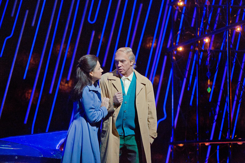 Rigoletto, Metropolitná opera Irina Lungu (Gilda) a Dmitri Hvorostovsky (Rigoletto)