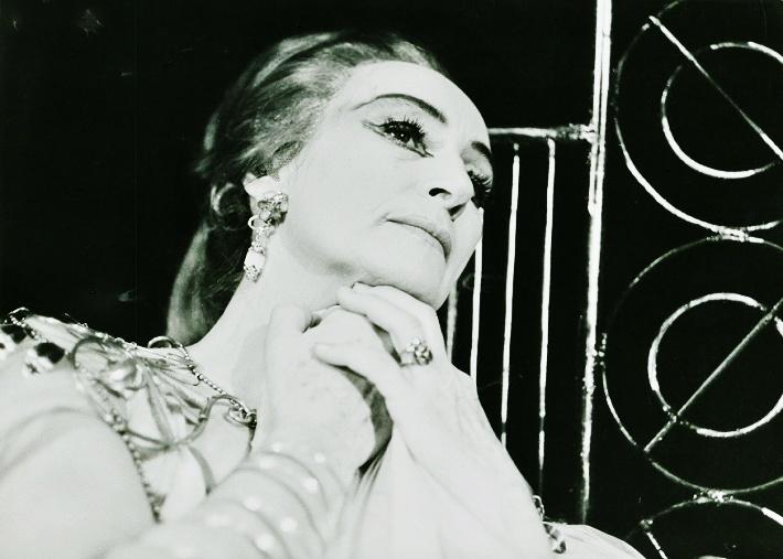 Židovka, Opera SND, 1965, Margita Česányiová (Recha) foto: Jozef Vavro