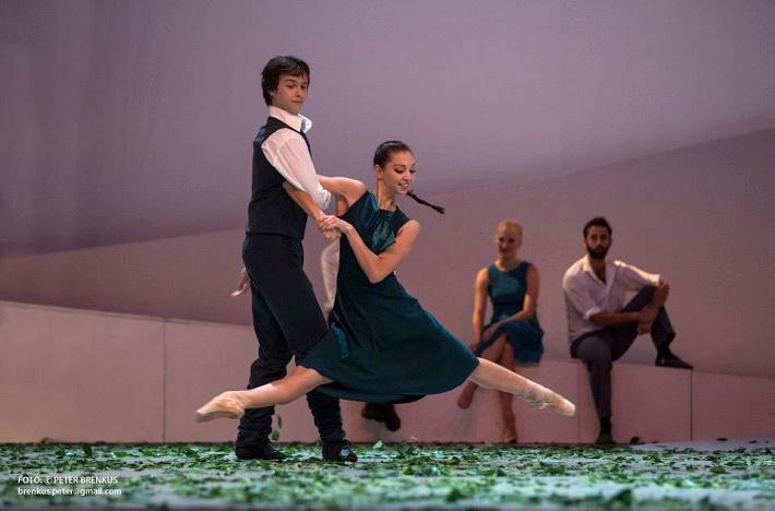 Eugen Suchoň: Angelika, Balet SND Viola Mariner (Angelika), Igor Leushin (Peter) foto: Peter Brenkus