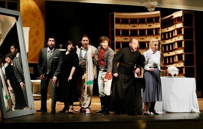 Gioacchino Rossini: Il barbiere di Siviglia, Teatro Rossini Pesaro 2014 foto: Studio Amati Bacciardi