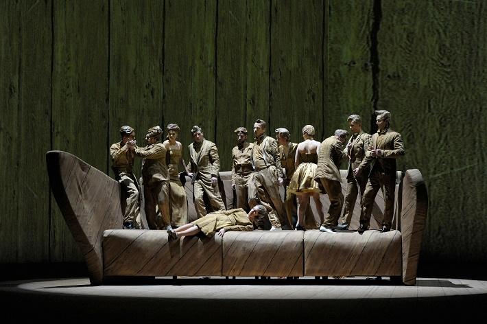 Bez názvu c. 1//Opera Herberta Fritscha foto: Volksbühne