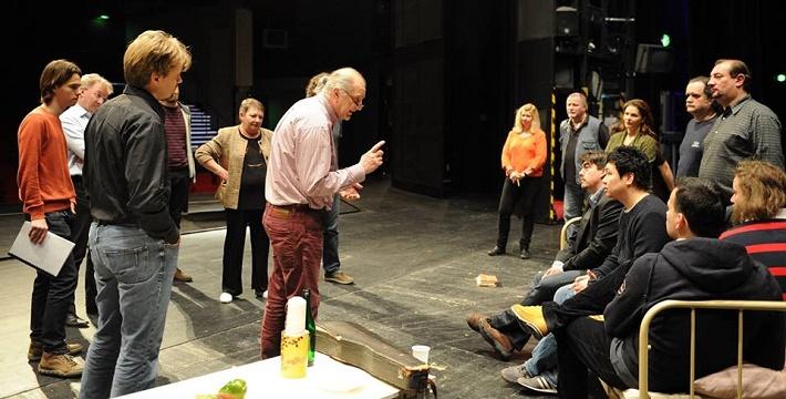 foto zo skúšobného procesu novej inscenácie Bohéma v Opere SND foto: Alena Klenková