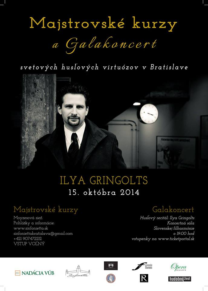 Ilya Gringolts Masterclass