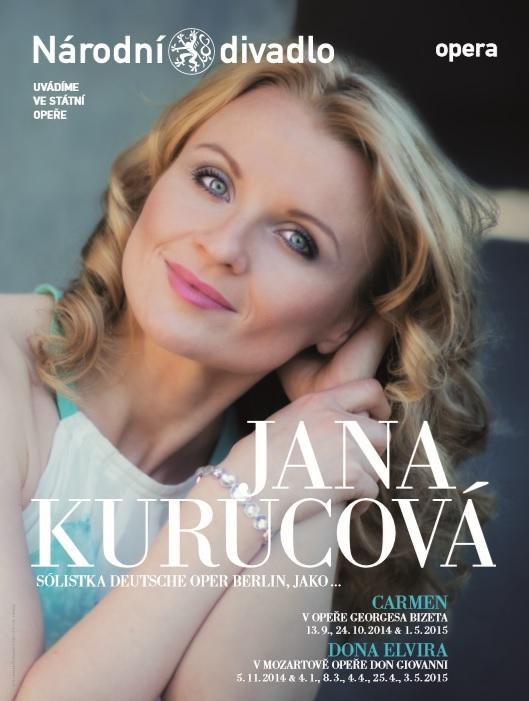Jana Curucová, Carmen debut
