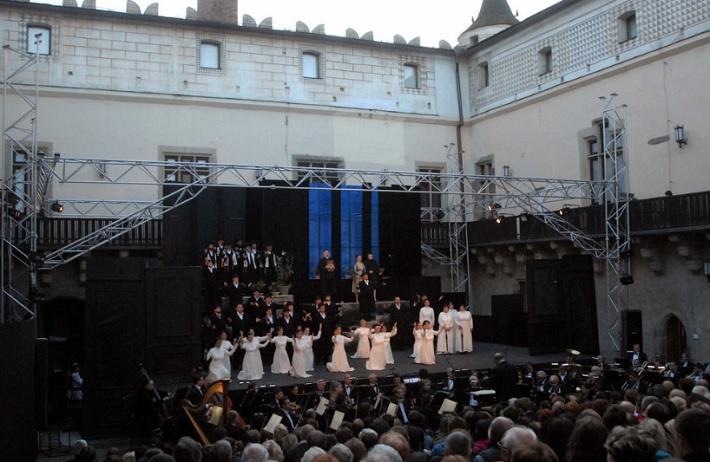 Nabucco, Zvolenské hry zámocké 2013