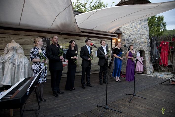 Príďte za operou - koncert mladých operných talentov, ročník 2014, J. Grejtáková, T. Tobisz, M. Gelenekyová, P. Horňák, Mazár, K. Sasková, R. Feriková, foto: Antonios Vlachou