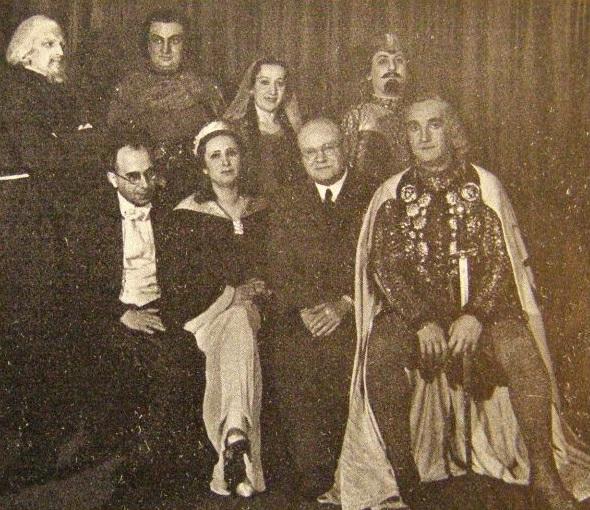 Premiéra českej verzie opery Antonína Dvořáka Alfred v Olomouci v roku 1938
