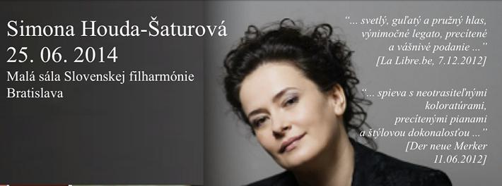 Simona Houda- Šaturová, baner