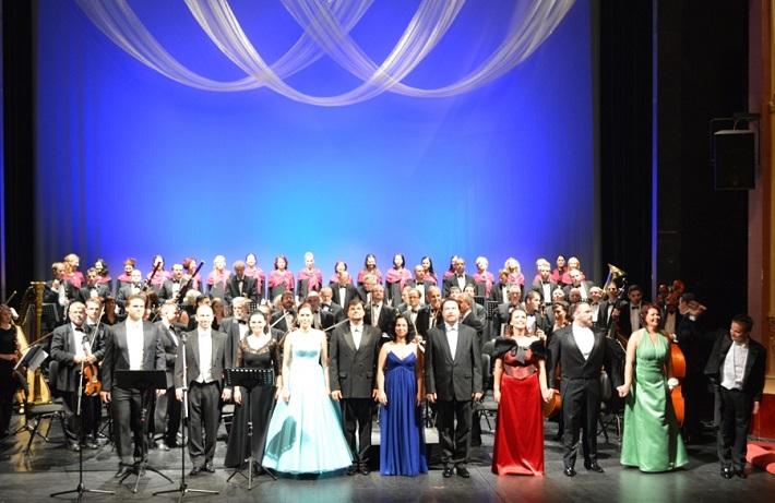 Slávnostný koncert Opery ŠD Košice, 2014