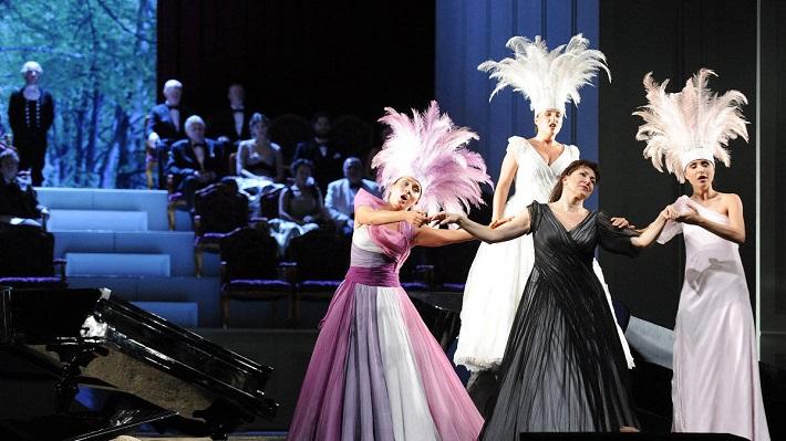 Ariadna na Naxe, Viedenská štátna opera, foto: Herbert P. Oczeret