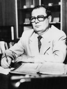 Ján Figura, zakladajúci riaditeľ ŠKO