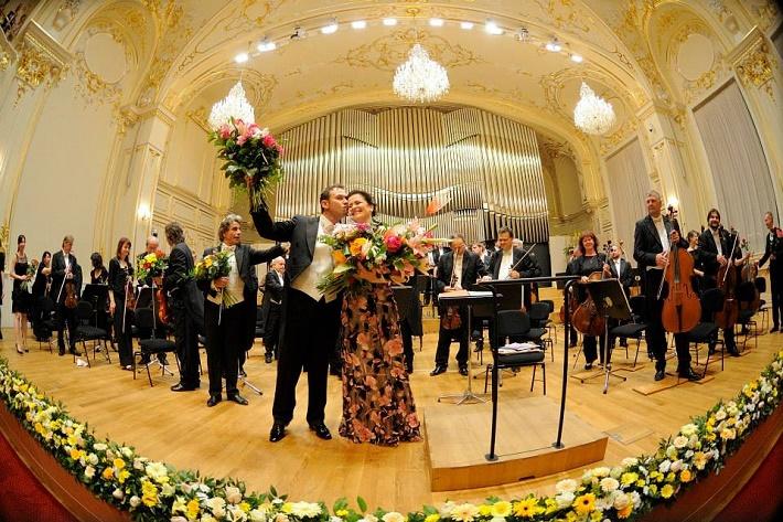 Mariusz Kwiecień a Simona Houda - Šaturová, Reduta Bratislava, koncert agentúry Kapos, foto: Milan Krupčík