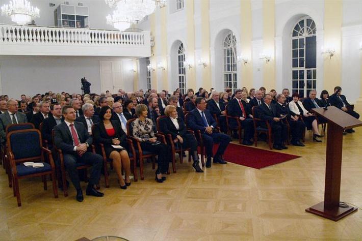 Odovzdávanie Ceny predsedu Národnej rady SR 2014