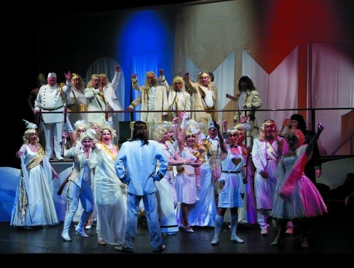 Orfeus v podsvetí, Opera ŠD Košice, foto: Joseph Marčinský
