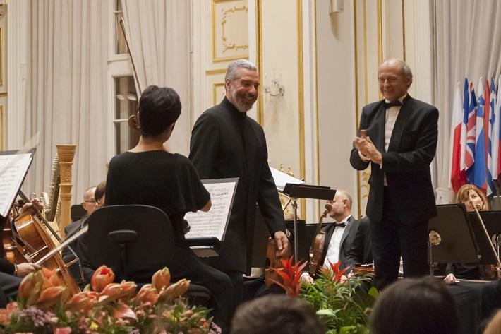 Tassis Christoyannis, Iván Fischer, BHS 2014 Budapest Festival