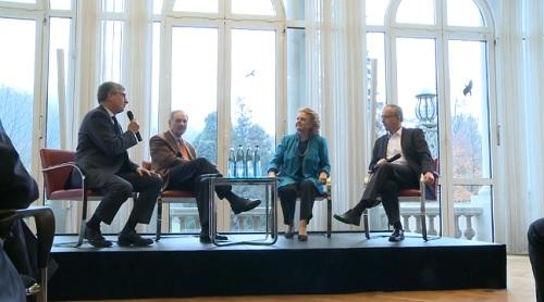 Edita Gruberová na udeľovaní Hudobnej ceny Herberta von Karajana, Baden-Baden, 2013