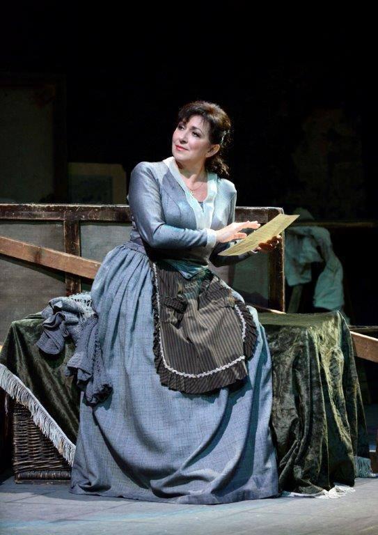 Bohema, Viedenská štátna opera, Krassimira Stoyanova (Mimi), foto: Barbara Zeininger
