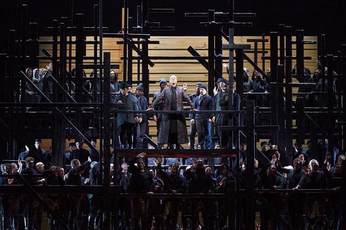 Chovanščina, Wiener Staatsoper, Ferruccio Furlanetto (Fürst Iwan Chowanski), Foto: Michael Pöhn