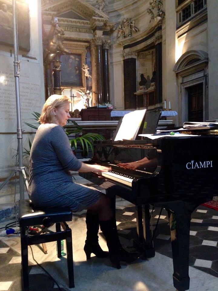 Júlia Grejtáková, Concorso Musica Sacra 2014, foto: Concorso Musica Sacra